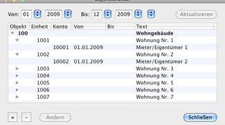 Mac-NeKo: Nebenkostenabrechnung auf dem Mac
