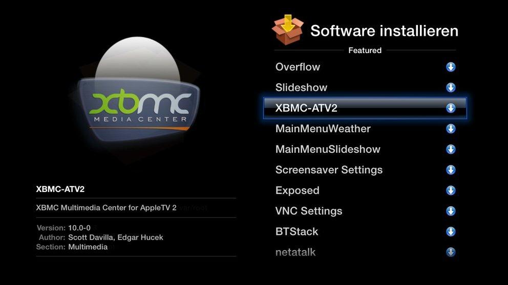Für iPhone 4, iPad und Apple TV 2: XBMC Media Center für Jailbreaker verfügbar