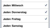 iOS 4 Wecker-Bug: Kein einmaliger Alarm an diesem Wochenende
