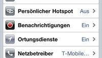 iOS 4.3: Personal Hotspot und iPad, Multitouch, iPhone 3G, Changelog