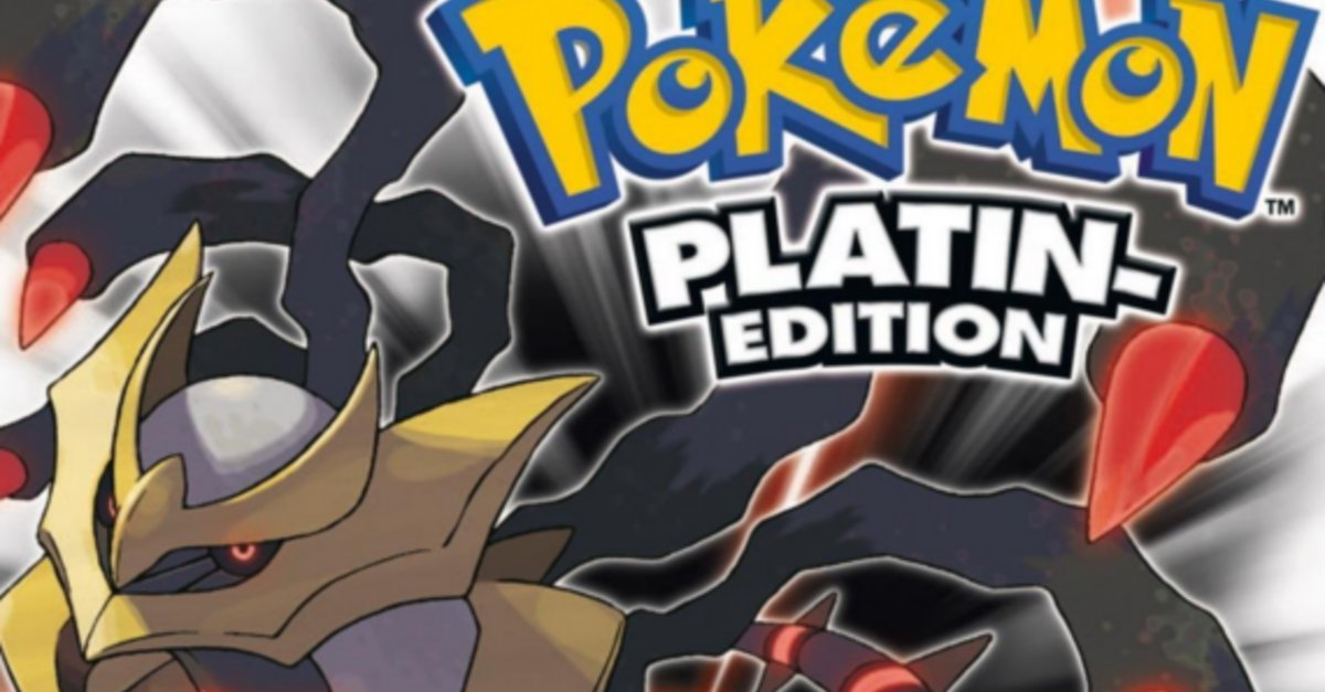 pokemon platin edition
