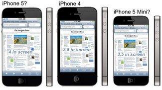 Gerüchte: Kein iPhone mini in absehbarer Zeit