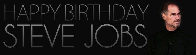 Happy Birthday Steve Jobs - Eure Glückwünsche