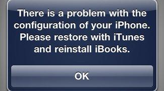 iBooks verweigert auf iOS-Geräten mit Jailbreak den Dienst