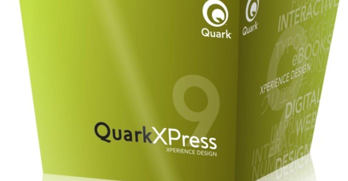 QuarkXPress 9 kostenlos für Dozenten: Neues Programm – GIGA
