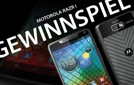 Motorola RAZR i Gewinnspiel - Der Gewinner steht fest!