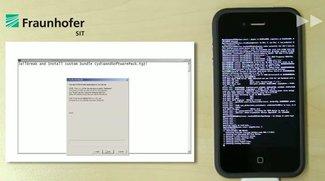 Fraunhofer SIT zeigt iOS-Sicherheitslücke