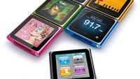 Firmware-Update für iPod nano 6G