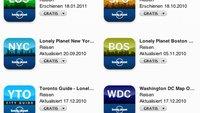 Kostenlose Reiseführer von Lonely Planet und Polyglott