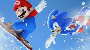 Mario und Sonic bei den Olympischen Winterspielen