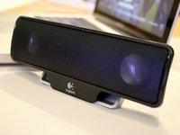 Mobile Lautsprecher fürs MacBook: Logitech Z205 Laptop Speaker im Test