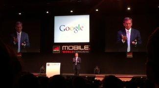 Google-Keynote: Eric Schmidt sieht die Zukunft mobil - mit NFC [MWC 2011]