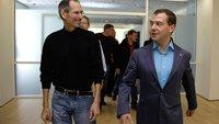 Jobs gab Medwedew ein iPhone 4 mit AT&T-SIM-Sperre