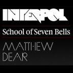 """Interpol, Matthew Dear, School of Seven Bells: Gratis-EP zur Tour mit Free-MP3: """"Lights"""", """"Slowdance"""" und """"Dust Devil"""""""
