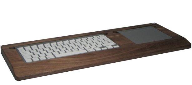 Gutscheincode: Edle Holzfassung für Tastatur und Trackpad