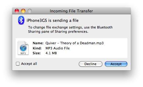 Celeste Dateitransfer