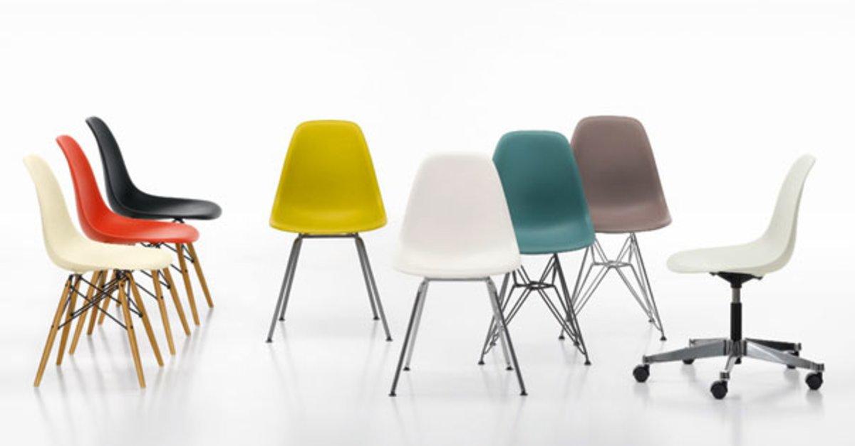 vitra eames plastic side chair ein stuhl wie ein turm giga. Black Bedroom Furniture Sets. Home Design Ideas