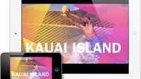 iMovie Universal App für iPad und iPhone