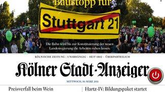 Kölner Stadt-Anzeiger: iPad-Ausgabe bis Ostern kostenlos