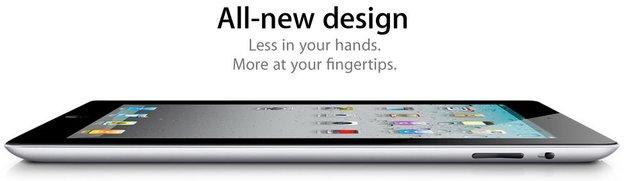 iPad 2: Leichter, dünner, schneller!