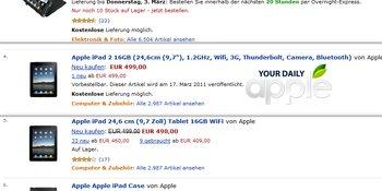 iPad 2 bei Amazon