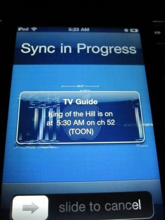 iOS 4.3: Grafikfehler beim iPod touch 4