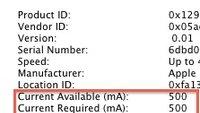 MacBook Pro 2011: USB-Anschlüsse mit 2,1 Ampere