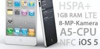 iPhone 5: Zukünftige Features und Funktionen