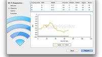 Mac OS X Lion: WLAN-Diagnose-Tool integriert
