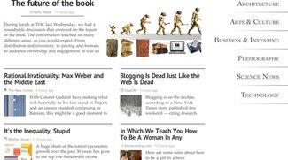 Zite: App macht iPad zur personalisierten Zeitschrift