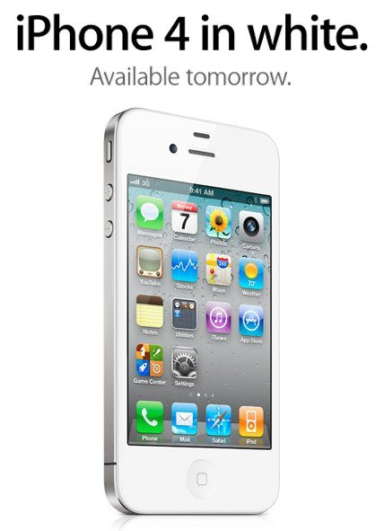 Apple: Weisses iPhone 4 ab morgen 28. April verfügbar