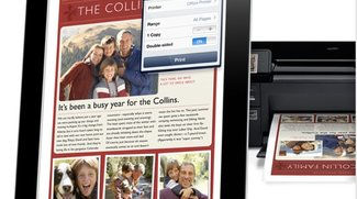 Drucken vom iPad: AirPrint- und andere Drucker einrichten