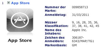 App Store Markenstreit: EU-Schutzantrag deutet auf eWallet