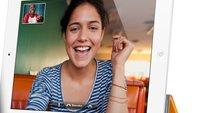 Videotelefonie am iPad 2 mit FaceTime: So geht's