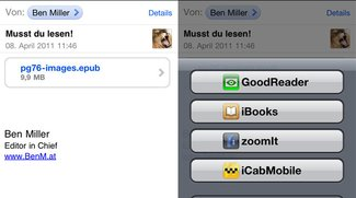 ePub in iBooks: Direkter Download auf iPhone und iPad