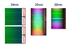 Neue SSD-Fertigungsmethoden: 128 GB in Briefmarkengröße