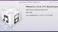 iOS 4.3.2: Bugfix für FaceTime und Sicherheitsupdate für WebKit