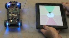 Spielzeugauto mit iPad und Handgesten steuern