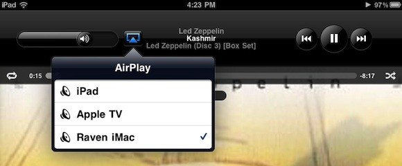 BananaTunes: Musik vom iPhone auf den Mac streamen - per AirPlay