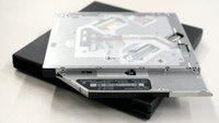 hardwrk DVD-Laufwerksgehäuse: Nachschlag zum Testbericht