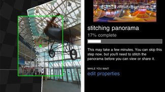 Photosynth: Mit iPhone, iPod touch und iPad Panorama-Bilder erstellen