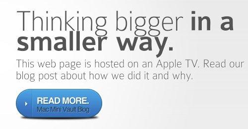 Projekt: Apple TV 2 als Webserver