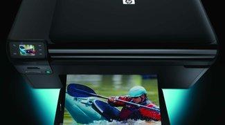 HP Photosmart Wireless B110a im Test: Wi-Fi, AirPrint und Apps in der Einsteigerklasse