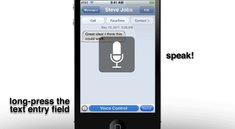 Video: Konzept für Spracherkennung und -Steuerung in iOS 5