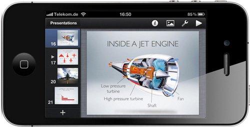 iWork Keynote, Pages und Numbers für iPhone und iPod touch