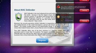"""Mac-Malware: """"MAC Defender"""" bewegt Benutzer zum Kauf vermeintlicher Anti-Virus-Software"""