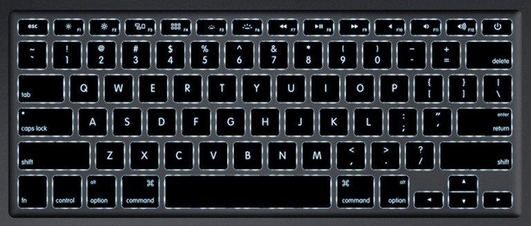 MacBook Air und Pro: Angeblich 2013 mit dünnerer Tastatur-Beleuchtung