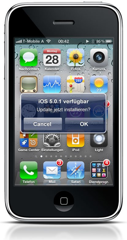 Ab iOS 5: Software-Updates over-the-air