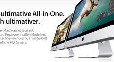 Neue iMac-Generation verfügbar: Quadcore Sandy-Bridge, Thunderbolt und mehr