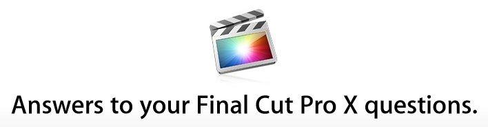 Reaktion auf FCPX-Kritik: Apple stellt FAQ online